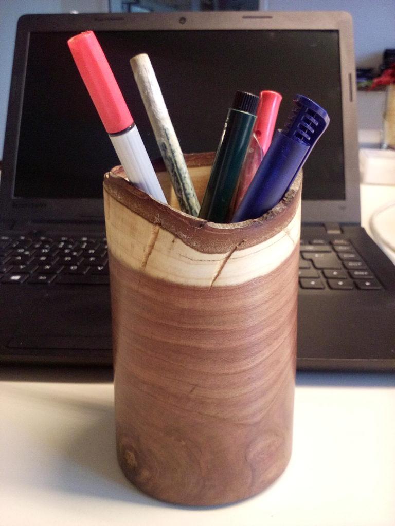 Stifteköcher - Zwetschke